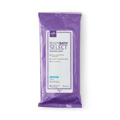 MEDMSC095107H - Medline - ReadyBath SELECT Medium-Weight Washcloths