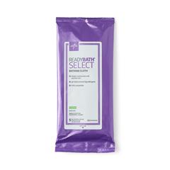 MEDMSC095108 - Medline - ReadyBath® SELECT Medium Weight Cleansing Washcloths