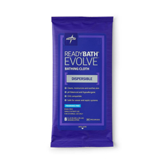 MEDMSC095303 - Medline - ReadyBath Evolve Bathing Cloths, 30 PK/CS