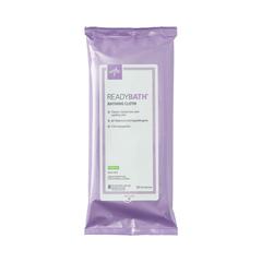 MEDMSC095304 - Medline - ReadyBath Total Body Cleansing Standard Weight Washcloths, 30 PK/CS