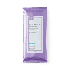 MEDMSC095307 - Medline - ReadyBath Total Body Cleansing Standard Weight Washcloths, 150 EA/CS