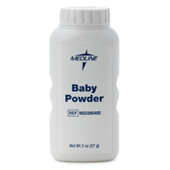 MEDMSC095492 - MedlinePowder, Medline, Baby, Talc, 2 Oz