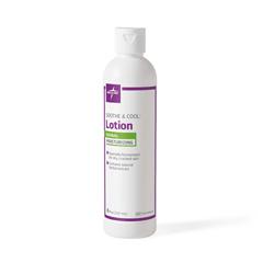 MEDMSC096430 - Medline - Soothe & Cool Herbal Body Lotion, White, 8.000 OZ, 12 EA/CS