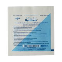 MEDMSC1044H - MedlineDressing, Foam, Adhesive, Optifoam, 4x4 (2.5x2.5 Pad)