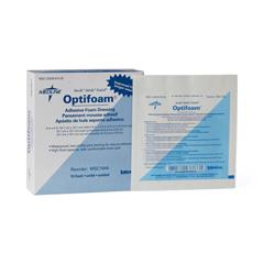 MEDMSC1044Z - MedlineDressing, Foam, Optifoam, Adhesive, 4x4 (2x2)
