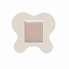 MEDMSC1065H - Medline - Optifoam Sacrum Adhesive Foam Wound Dressing, 6.1 x 5.6, 1/EA