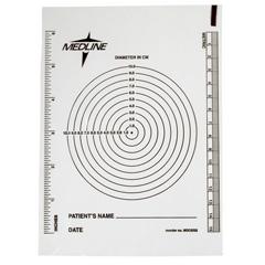 MEDMSC1234H - MedlineGuide, Measuring, Wound, 10Ea