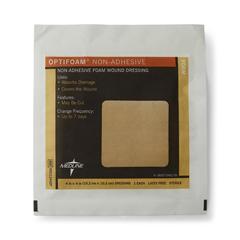 MEDMSC1244EPH - MedlineDressing, Foam, Non-Adherent, Optifoam, 4x4