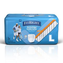MEDMSC19505 - MedlineProtect Plus Protective Underwear, Large, 100EA/CS