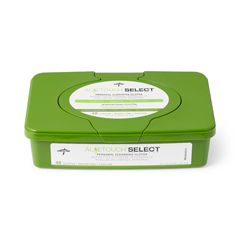 MEDMSC263701H - MedlineAloetouch SELECT Premium Spunlace Personal Cleansing Wipes