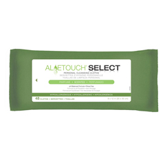 MEDMSC263750AH - MedlineAloetouch SELECT Premium Spunlace Personal Cleansing Wipes