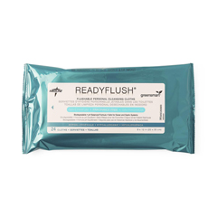 MEDMSC263830 - Medline - ReadyFlush Flushable Personal Cleansing Wipes, Fragrance Free, 24/PK, 24 PK/CS