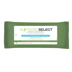 MEDMSC263850H - MedlineAloetouch SELECT Premium Spunlace Personal Cleansing Wipes