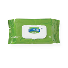 MEDMSC263954 - MedlineAloetouch Personal Cleansing Wipes