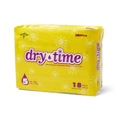 MEDMSC266045H - MedlineDiaper, Baby, Drytime, Size 5, 30-38Lbs