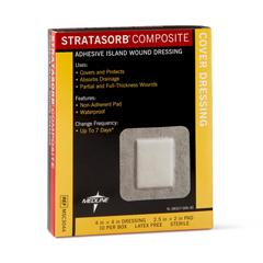 MEDMSC3044Z - MedlineStratasorb Composite Dressings