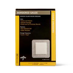 MEDMSC3222Z - MedlineSterile Bordered Gauze