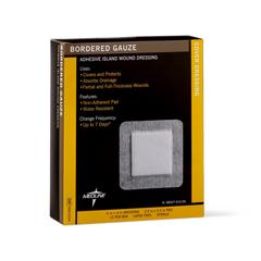 MEDMSC3244 - MedlineSterile Bordered Gauze