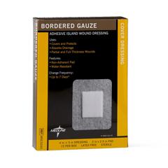 MEDMSC3245Z - MedlineSterile Bordered Gauze