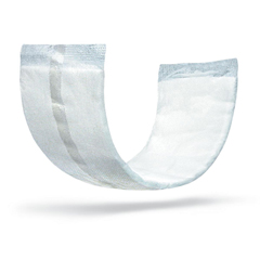MEDMSC326015H - Medline - FitRight Double Up Thin Incontinence Booster Pads, 3.5 X 11.5, 24 EA/BG