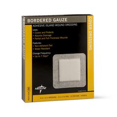 MEDMSC3266Z - MedlineSterile Bordered Gauze