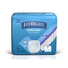 MEDMSC33005H - MedlineProtection Plus Super Protective Adult Underwear