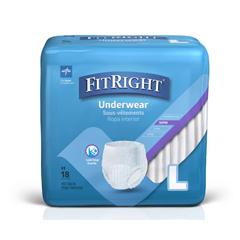 MEDMSC33255 - MedlineProtection Plus Super Protective Adult Underwear