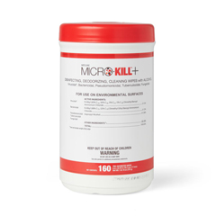 MEDMSC351200H - MedlineMicro-Kill+ Disinfectant Wipes