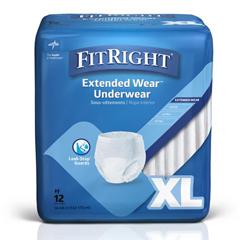 MEDMSC53600 - MedlineProtection Plus Overnight Protective Underwear