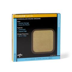 MEDMSC5444 - Medline - Exuderm Satin Hydrocolloid Wound Dressing, 4 x 4, 10 EA/BX