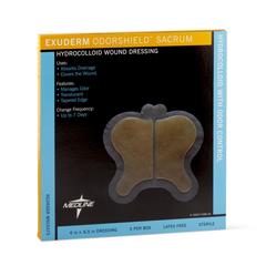 MEDMSC5575 - MedlineExuderm Odorshield Hydrocolloid