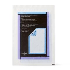 MEDMSC64610EPH - Medline - OptiLock Nonadhesive Super Absorbent Wound Dressings, 6.5 x 10