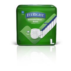 MEDMTB80500Z - Medline - Extended Wear High-Capacity Adult Incontinence Briefs, 45- 59, 15 EA/BG