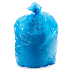 MEDNON02221658 - Medline - Liner, Soiled Linen, Blue, 38 x 58, 1.5Mil