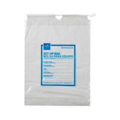 MEDNON026370H - Medline - Respiratory Patient Set-Up Bag, 12 x 16, 1/EA