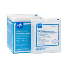 MEDNON21444 - MedlineAvant Gauze Non-Woven Sterile Sponges