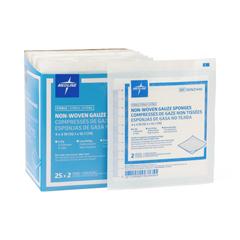 MEDNON21446 - MedlineGauze, Sponge, Avant, 4x4, 6-Ply, 2S, Sterile