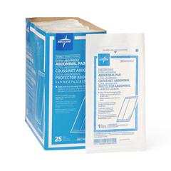 MEDNON21450H - Medline - Sterile Abdominal Pads, 25 EA/BX