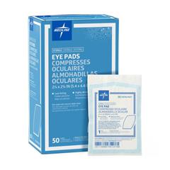 MEDNON21601 - Medline - Pad, Eye, Large, 2 .125 x  2 .625, Sterile