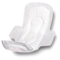 MEDNON241289 - MedlineSanitary Pads with Adhesive & Wings