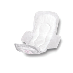 MEDNON241289Z - MedlineSanitary Pads with Adhesive & Wings
