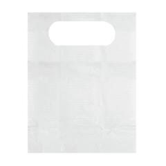 MEDNON24268OH - MedlineDisposable Tissue/Poly-Backed Adult Bibs, White, 300 EA/CS