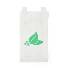 MEDNON24309X - Medline - Bag, Bedside, Paper, White, 6.5x3.5x11.75
