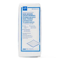 MEDNON25334 - Medline - Avant Standard Nonsterile Nonwoven Gauze Sponges, 4000 EA/CS