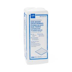 MEDNON25334Z - Medline - Avant Standard Nonsterile Nonwoven Gauze Sponges, 200 EA/BG