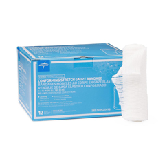 MEDNON25498 - Medline - Sterile Conforming Stretch Gauze Bandages, 96 EA/CS
