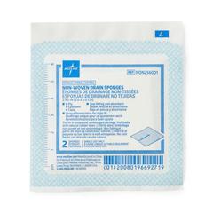 MEDNON256001Z - Medline - Avant Sterile Nonwoven Gauze Drain Sponge, 70 EA/BX