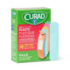 MEDNON256131 - Curad - Neon Adhesive Bandages, Natural