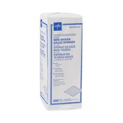 MEDNON26444 - Medline - Avant Deluxe Nonsterile Nonwoven Gauze Sponges, 2000 EA/CS