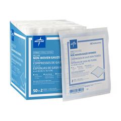 MEDNON264442 - MedlineAvant Deluxe Sterile Gauze Sponges